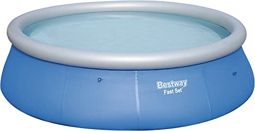 Bestway 57319 - Piscina hinchable Fast Set con anillo hinchable y ...