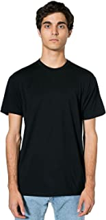 product image for American Apparel 50/50 Short Sleeve Tee (BB401) Black, XS