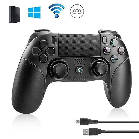Powcan Controlador PS4, PowerLead Gamepad inalámbrico Mando Pro ...