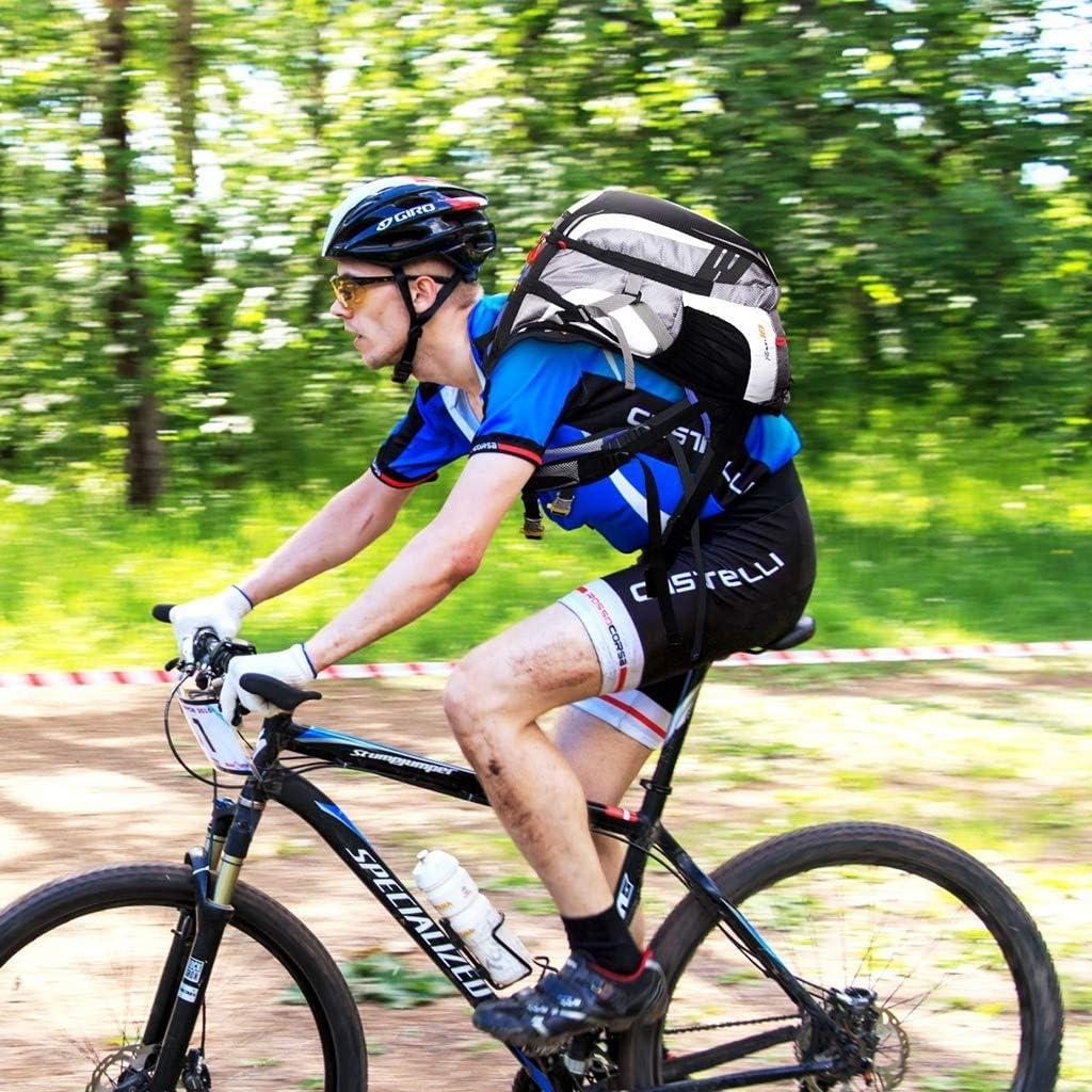 WUZHENG Wasserdichte Fahrradrucks/äcke Fahrradrucksack Fahrradrucksack Daypack Zyklus Rucksake Sportrucksack f/ür Outdoor-Reisen Reiten Wandern Camping Klettern