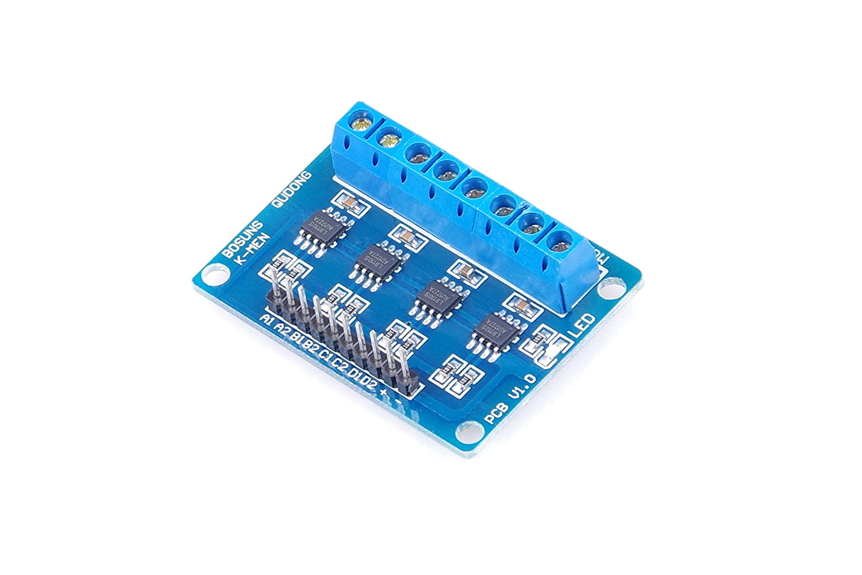 HG7881 H-bridge 4-Channel DC Stepper Motor Driver Controller Board for Arduino TOFKE