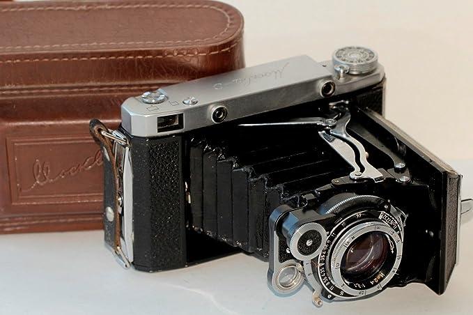 Vintage cámara Moscú 5 kmz Plegable telémetro cámara 6 x 6 6 X 9 ...