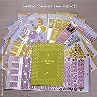 CADERNO DE ADESIVOS PARA PLANNER (STICKER BOOK COLLECTION 2019)