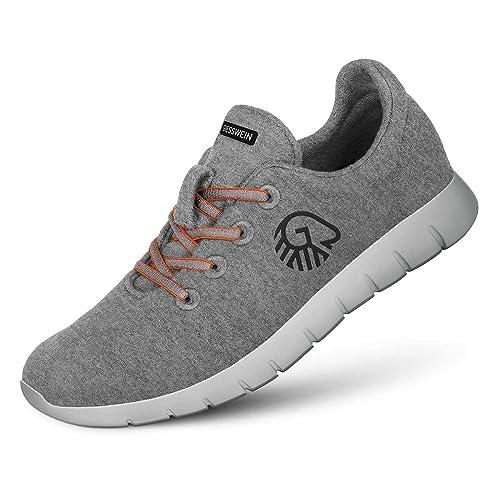 reputable site 57935 5dc95 GIESSWEIN - Merino Runners Women, Atmungsaktive Sneaker für Damen aus 100%  Merino Wolle, Sportliche Schuhe, Halbschuh, Freizeitschuh, Damenschuhe