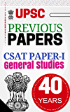 UPSC Civil Services Previous year Papers – Subject wise Questions with Answers: IAS – CSAT Paper 1 (1979 – 2017 38 years)