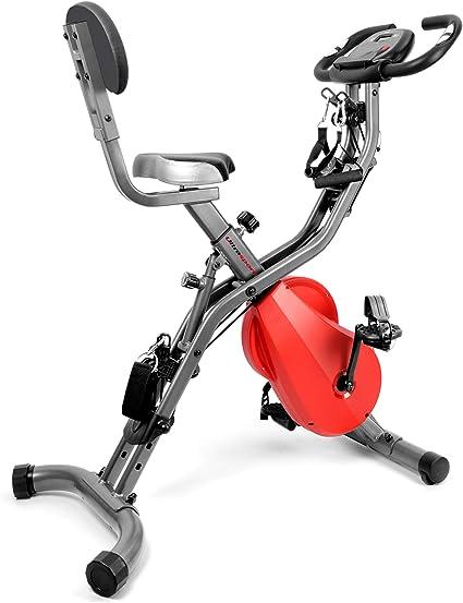 Ultrasport, Gris Oscuro/Rojo F-Bike 700BS Pro Estática, Bicicleta ...