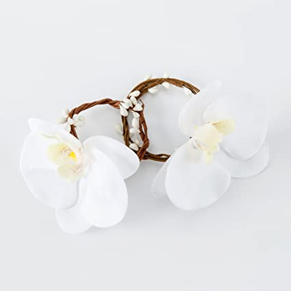 Amazon Beadingsupplys Wedding Napkin Rings Set Flower