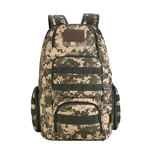 65d8e54885d9 Amazon.com : Jili Online 40L Backpacking Gear Hiking Backpack Molle ...