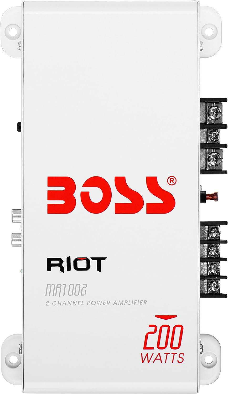 Boss Audio Mr1002 2 Channel Power Amplifier Navigation