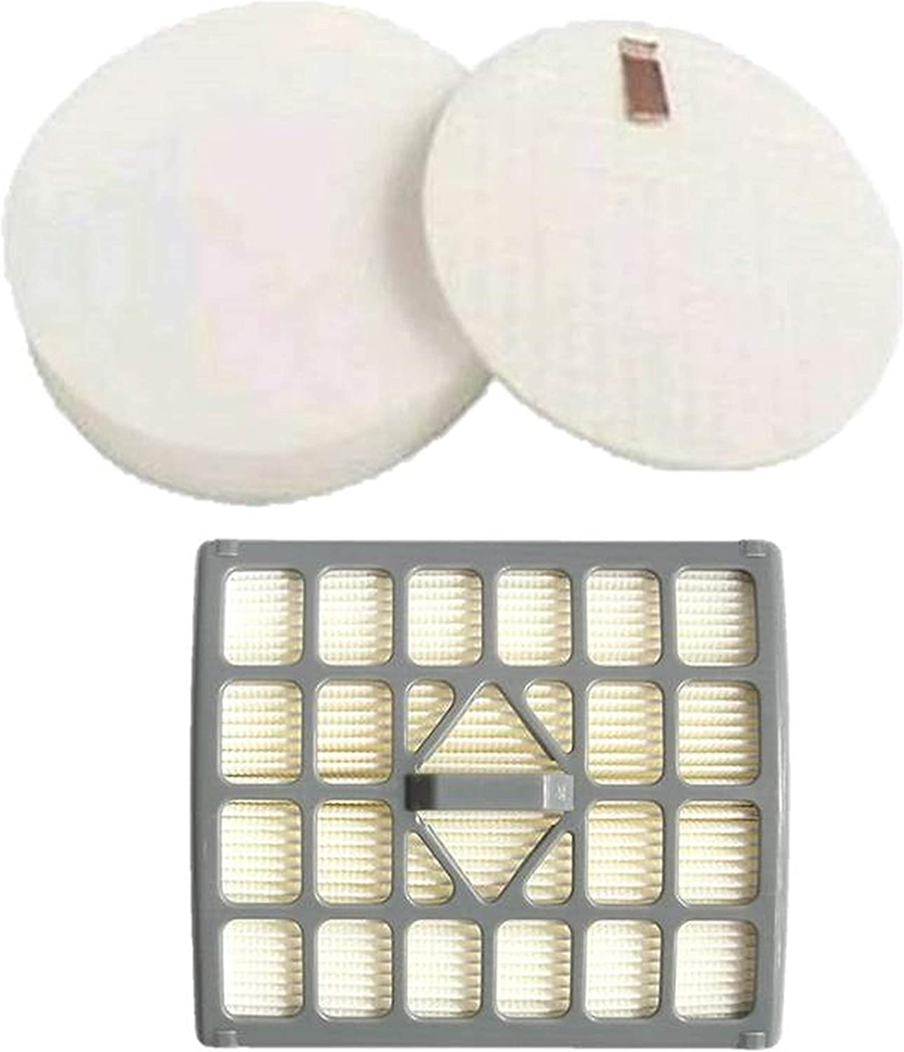 Casa Vacuums Replacement Shark Rotator Slim-Light Lift-Away Filter Kit for NV341 & NV341Q. Compare to Part # 1229FC340 & XHF340
