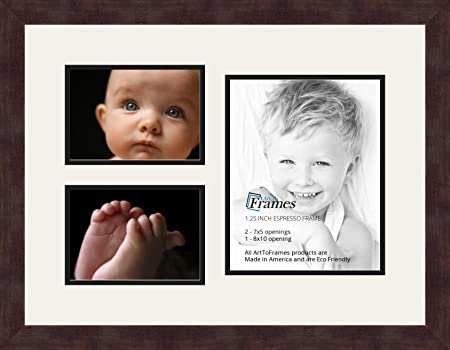 Art to Frames Double-Multimat-1128-61/89-FRBW26061 Collage Frame ...