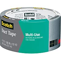 Scotch Multi-Use Duct Tape, 1.88 in x 10 yd (48 mm x 9.1 m), 1 Roll, 1110-AF-12