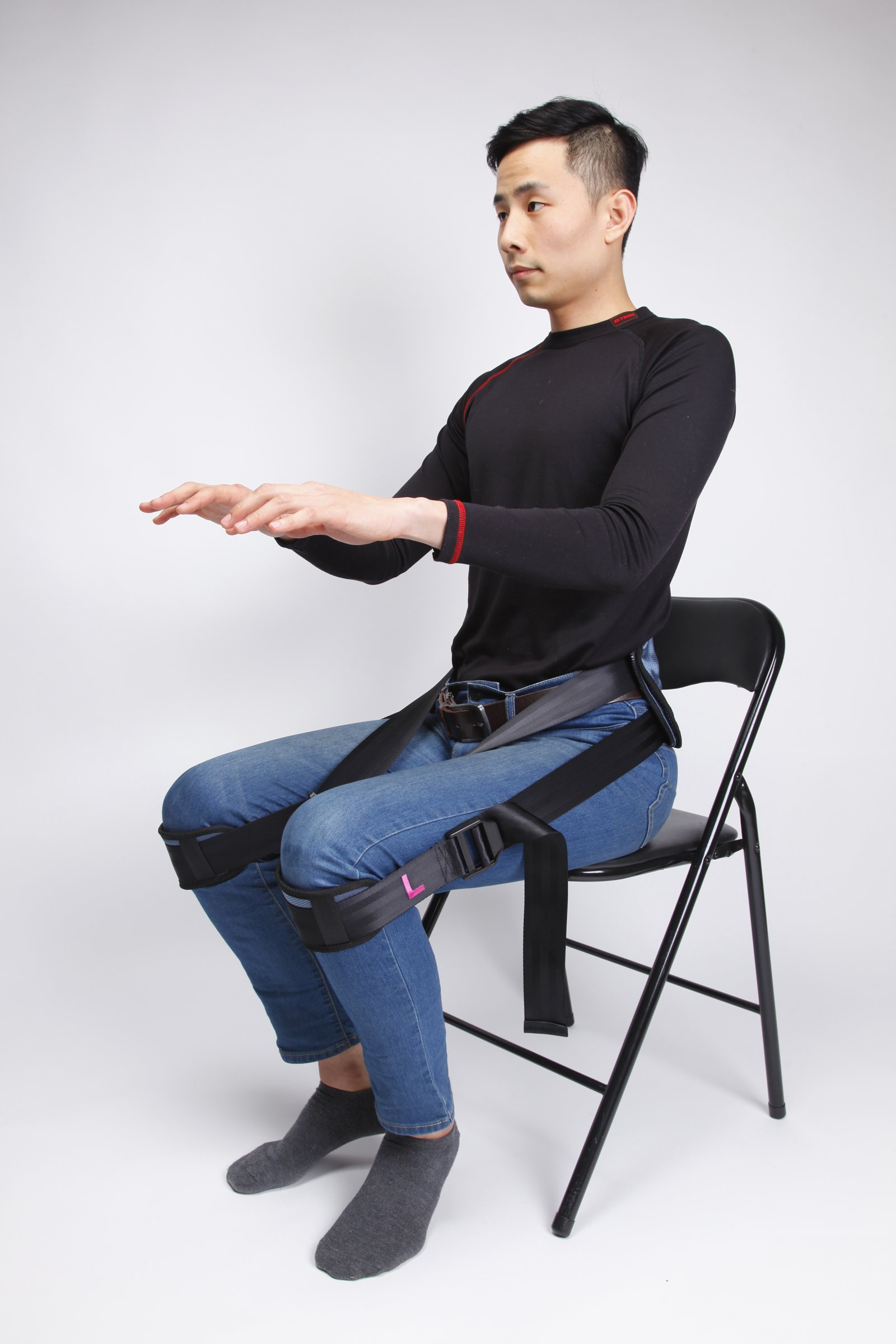 Everyway4all EverTrac Taiwan LT100 Lumbar back support adjustable personal belt by Everyway4all (Image #8)