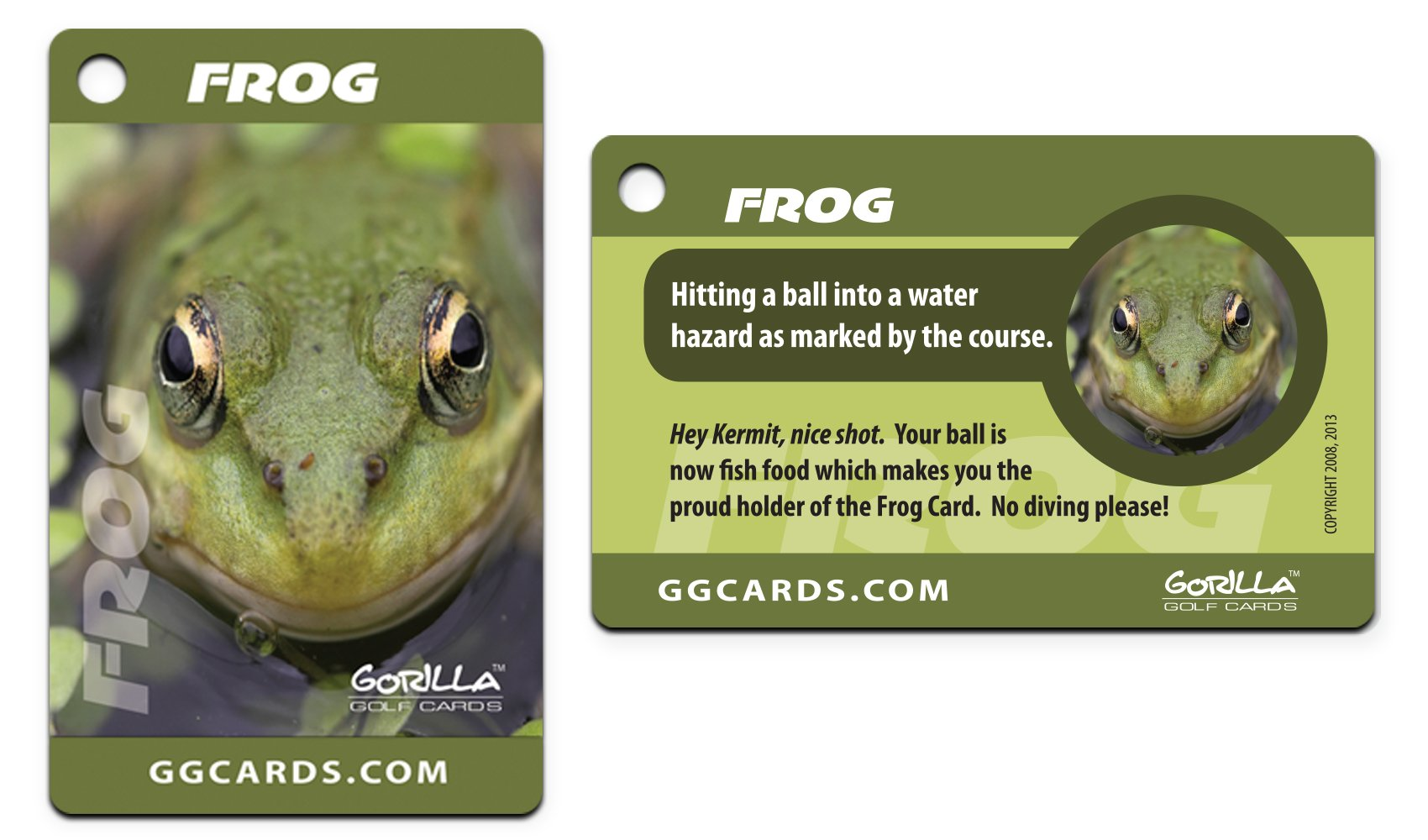 Gorilla Golf Cards : The On-Course Golf Betting Game by Gorilla Golf Cards (Image #4)