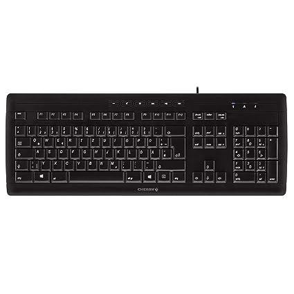 Cherry G85-23200GB-2 Stream 3.0 Tastatur, schwarz, Layout UK (QWERTY)