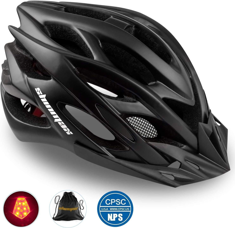 RWA Sportswear - Shinmax CPSC/CE Certified Adjustable Ultralight Bike Helmet