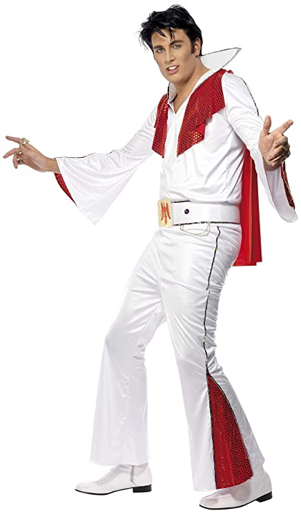 Fancy - Disfraz de Elvis, talla L (29151L): Amazon.es: Juguetes y ...