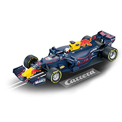 Carrera 20027565 27565 Red Bull Racing Tag Heuer RB13 D. Ricciardo No 3 Digital Evolution 1: 32 Scale Analog Slot Car Racing Vehicle, Blue: Toys & Games