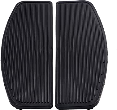 REPL FLOORBOARD PADS Manufacturer: Bikers Choice 1989 Harley Davidson FLHTC Electra Glide Classic Floorboard Replacement Pads