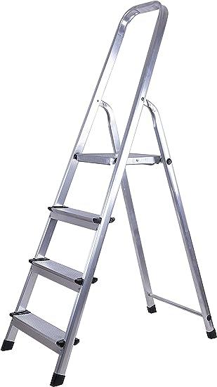 7150 Escalera Aluminio 4 P.: Amazon.es: Bricolaje y herramientas