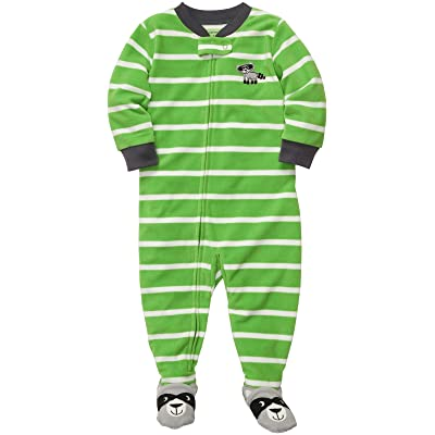 Carter's Little Boys' 1-Pc L/S Footed Sleeper