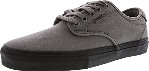 16dc8970f3 Vans Men s Chima Ferguson Pro Mono Pewter Ankle-High Canvas Skateboarding  Shoe ...