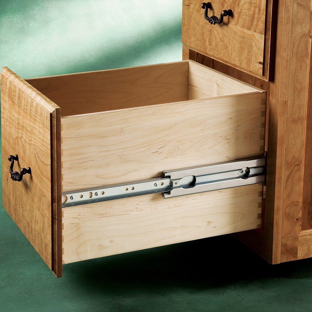 drawer furniture drawers duty runners cozy dimensions sliding regarding slides ideas x for heavy