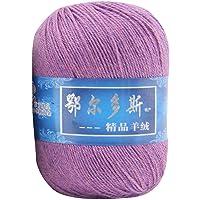 Zolimx I: 1Pc Soft Artificial Cashmere Yarn Hand-Knitted Mongolian Artificial Woolen DIY Weave Thread 50G Balls of Knitting Yarn (I)