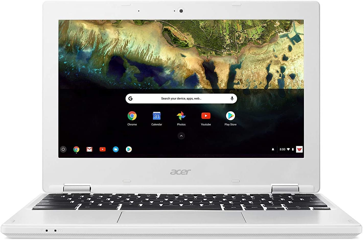 Newest Acer Chromebook 11.6-Inch HD IPS Display, Intel Celeron N3060 Dual-Core Processor, 2GB RAM,16GB SSD, WiFi, HDMI, Chrome OS (Renewed)