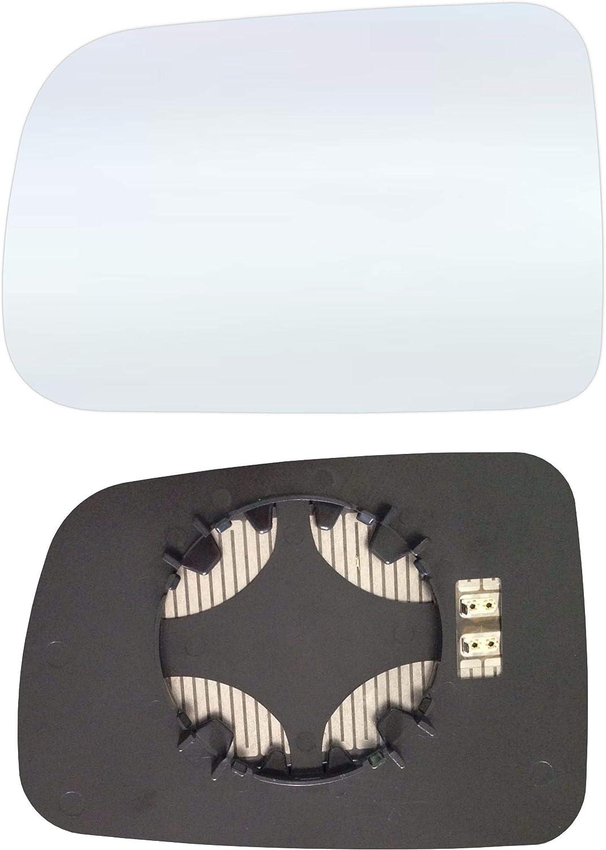 Links Fahrerseite Spiegelglas mit Platte und Heizung #AM-HACV01-LCH