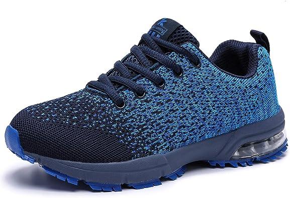 Kuako Zapatillas de Deporte para Mujer Transpirables para Correr por Carretera Ligero Casual Transpirable Zapatos para Correr: Amazon.es: Zapatos y complementos