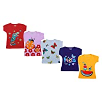Kuchipoo Girls' Cotton T-Shirt