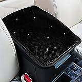 eing Suporte para console central de automóvel, capa protetora para assento de carro, ajuste universal, acessórios de decoraç