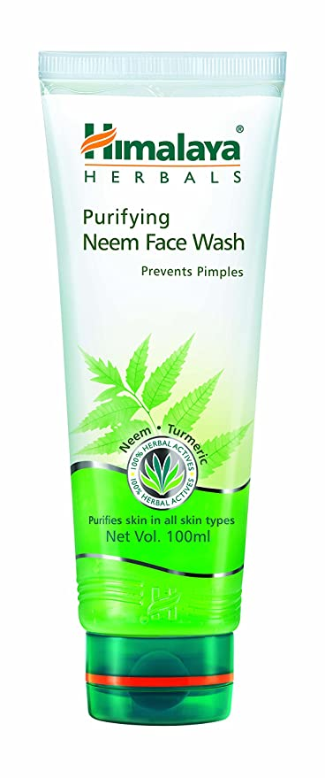 himalaya acne and pimple face wash
