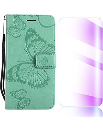 Funda Galaxy J2 Pro 2018, The Grafu® Billetera Cuero Funda con Protector de Pantalla