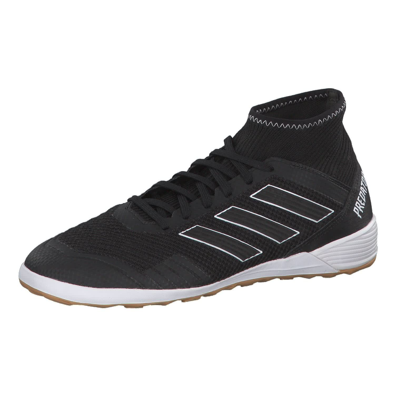 Adidas Predator Tango 18.3 In, Zapatillas de Fútbol Sala para Hombre 45 1/3 EU|Negro (Negbás/Negbás/Ftwbla 000)