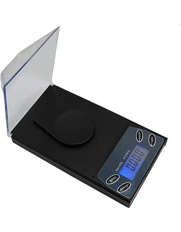 Hoosiwee Báscula Digitales de Precisión, 20g 0.001g Báscula de Joyería, Miligramos Escala,