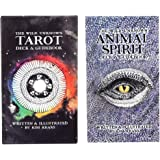 The Wild Unknown Tarot Deck + The Wild Unknown Animal Spirit - Deck and Guidebook Game Card - Tarot Cards Deck - English