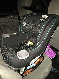 Amazon Com Graco Extend2fit Convertible Car Seat Gotham