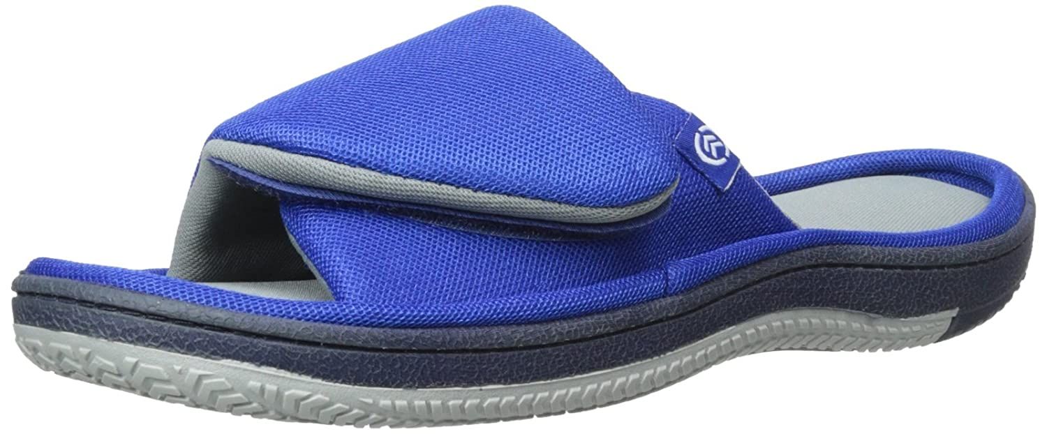 ISOTONER Men's Mesh Hook-and-Loop Slide Sandal B00NWJ5PSI Parent