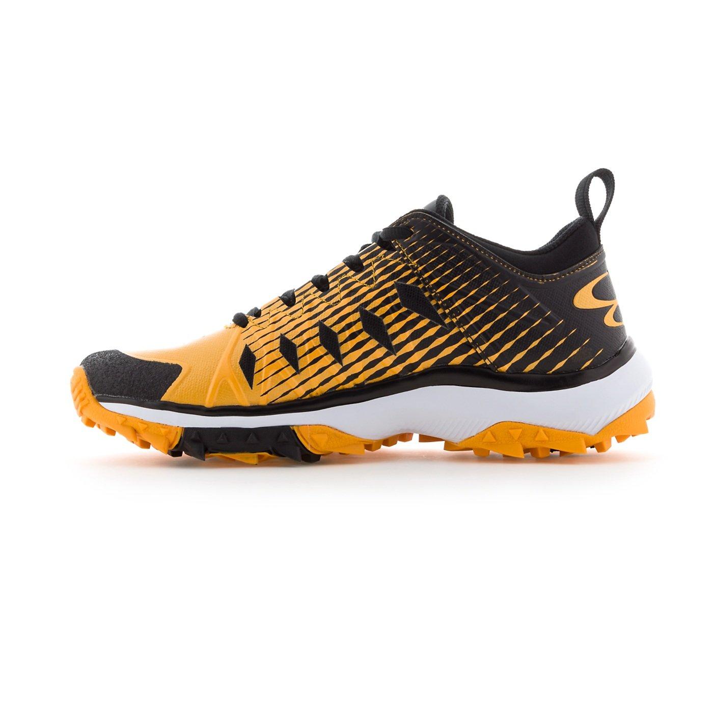 Boombah Women's Squadron Turf Shoes - 14 Color Options - Multiple Sizes B079JZCXN7 9.5|Black/Gold