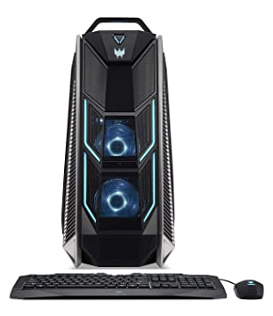 Amazon com: Acer Predator Orion 9000 PC Core i7-8700K 3 7GHz