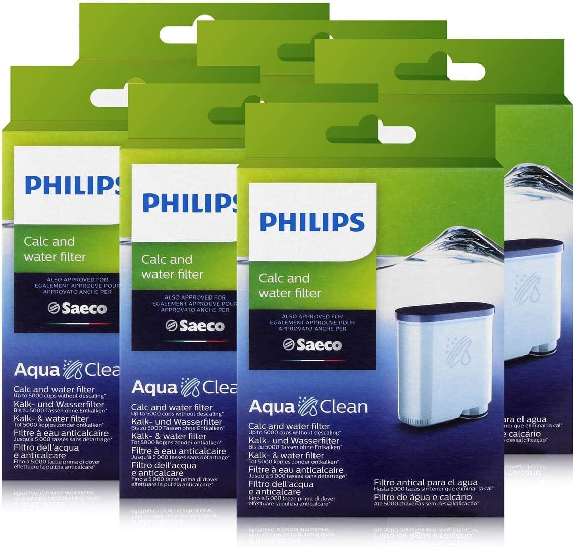 Philips CA6903/10 AquaClean - Filtro de agua para cafeteras ...