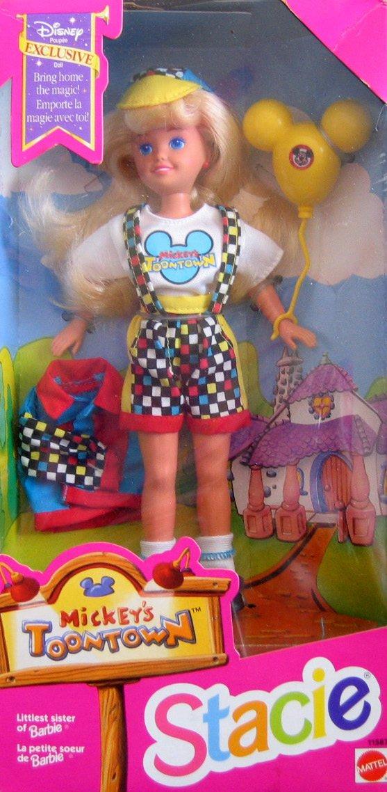 Barbie STACIE Mickey's Toontown Doll  Disney Exclusive (1993)