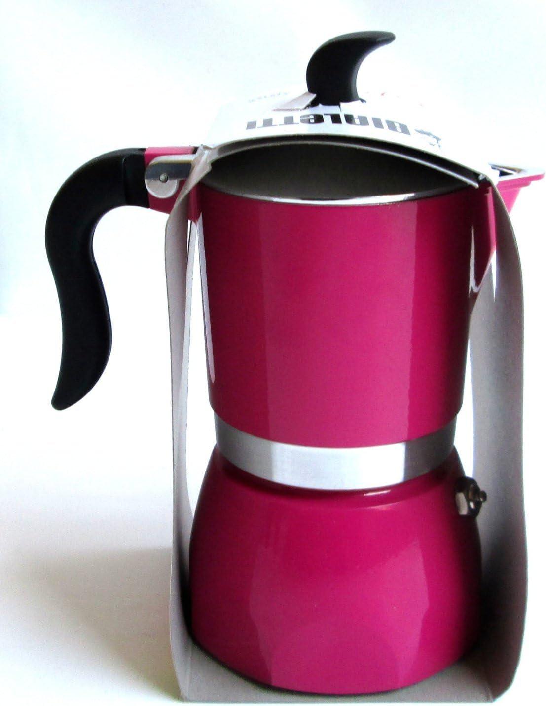 Cafetera Fiammetta 1Tz Color Rosa: Amazon.es: Hogar