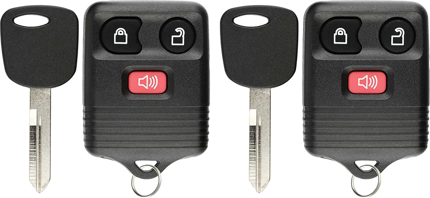 Explorer F-150 Expedition CWTWB1U212 Ranger Navigator CWTWB1U345 CWTWB1U322 KeylessOption Keyless Entry Remote Fob Car Key for Ford CWTWB1U331