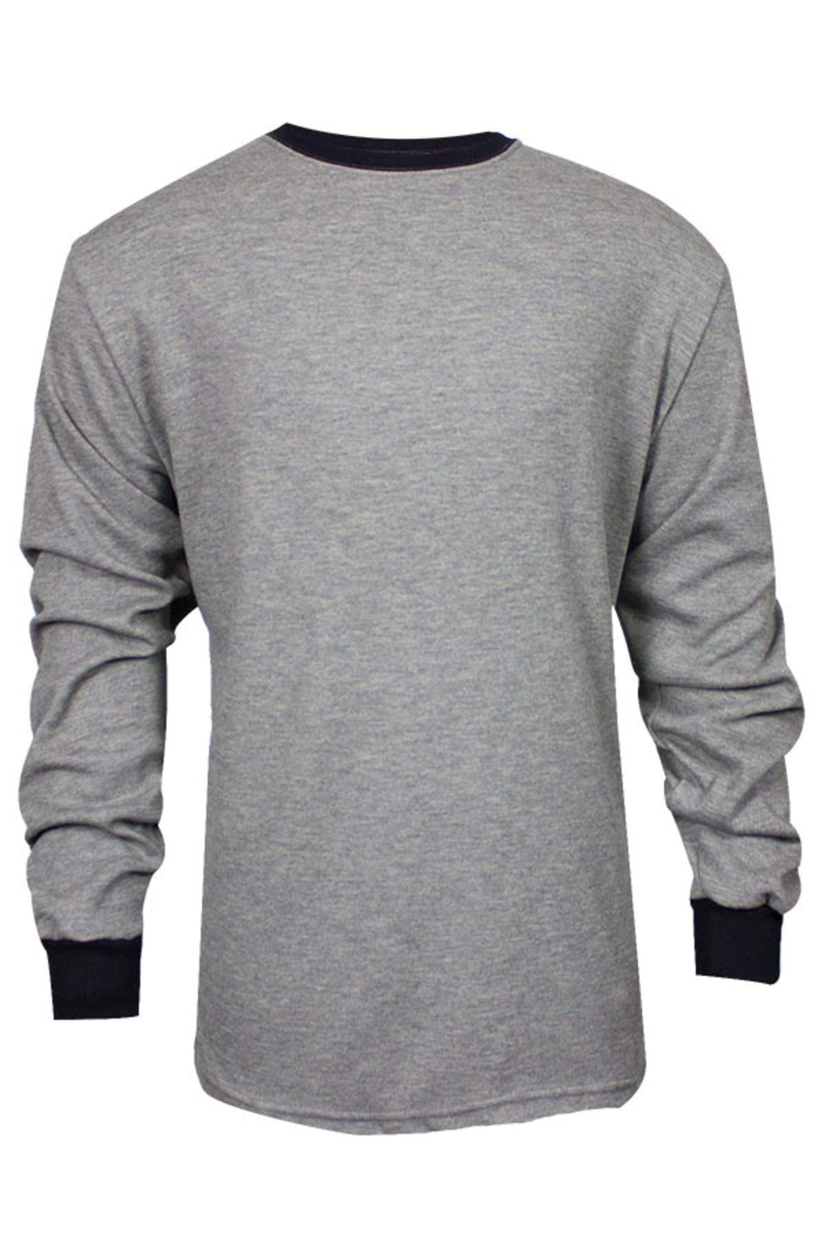 National Safety Apparel C541NGELSXL TECGEN Select Long Sleeve FR T-Shirt, X-Large, Grey