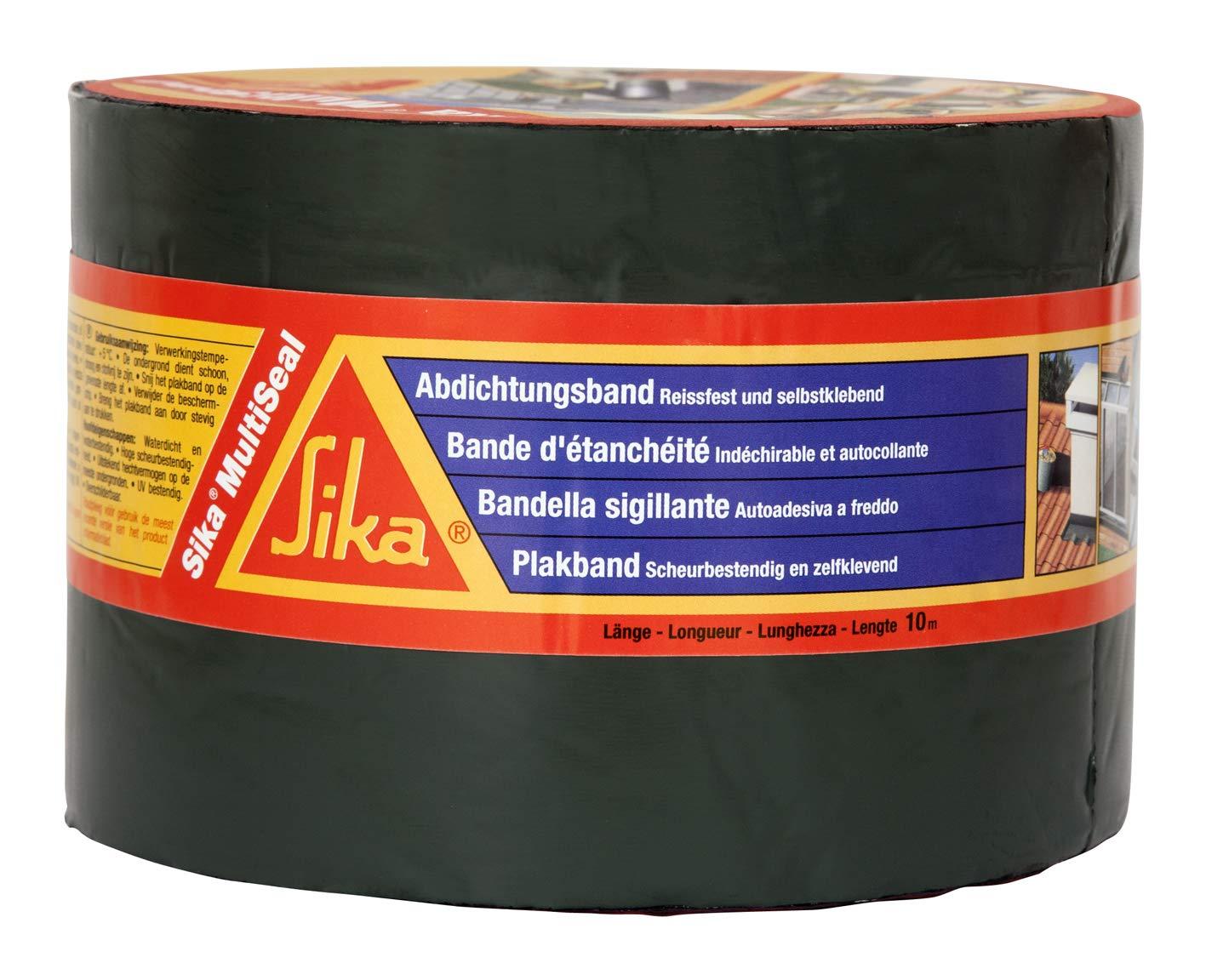Sika 3734 Multiseal Repair Tape, Self Adhesive, 200 mm x 10 m Grey 200mm x 10m Grey SIKA FRANCE S.A.S