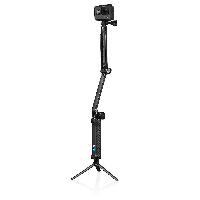 R/ändelschraube Stativ Offizielles GoPro-Zubeh/ör /& Basics Tragetasche f/ür GoPro Actionkameras GoPro 3-Wege Halterung Schwenkarm XS Gr Griff