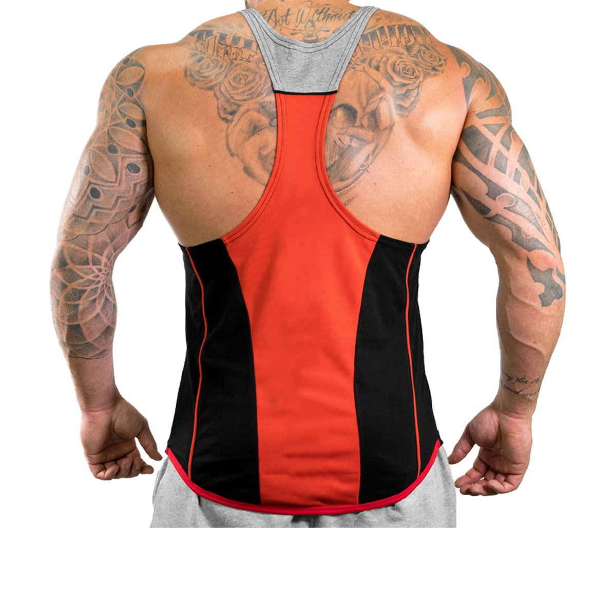 6ad25e8eb57ff Harri me Men s Muscle Gym Fitness Y Back Stringer Tank Tops ...
